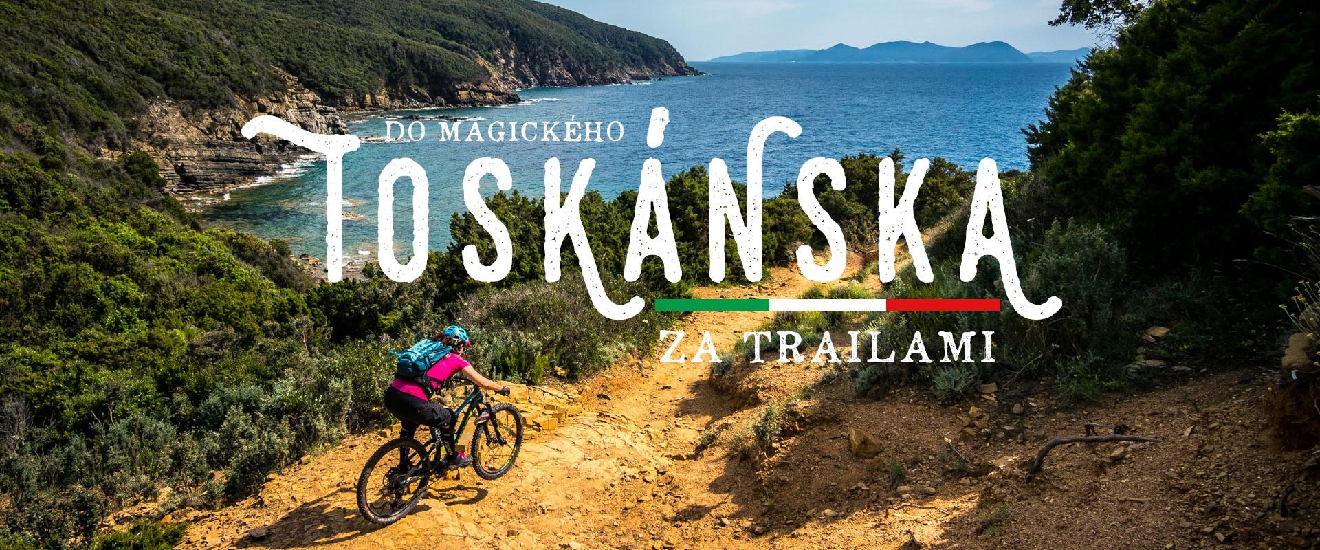Za trailami do Toskánska - útek pred zimou