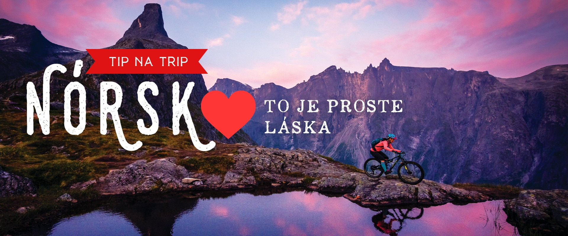 Juh Nórska - to je proste láska