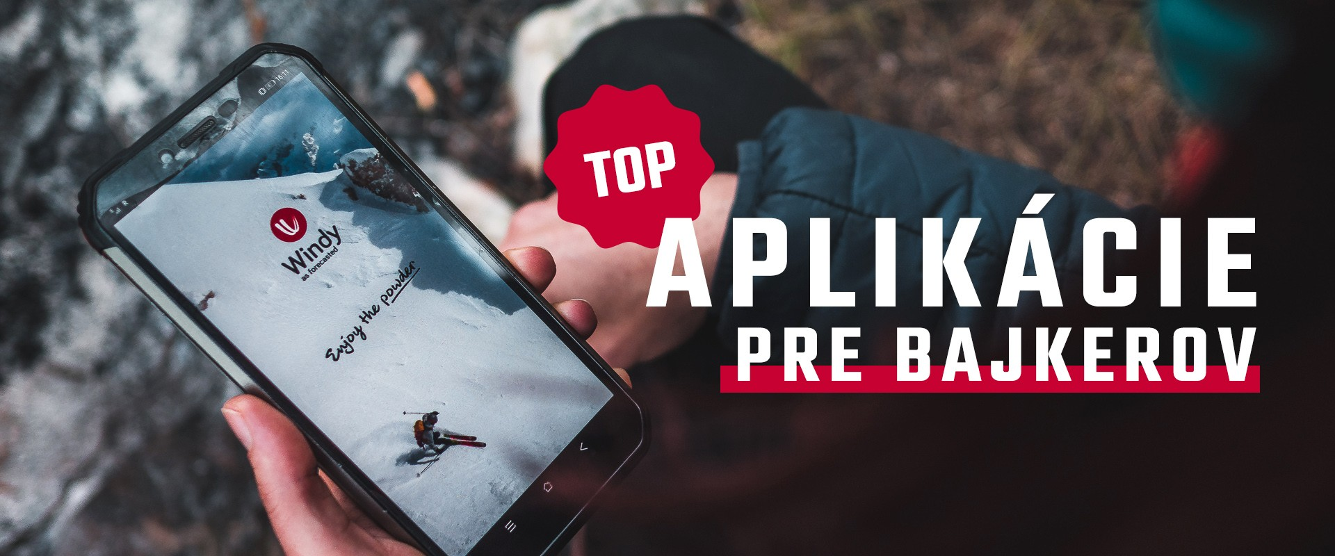 TOP aplikácie pre bajkerov a milovníkov hôr