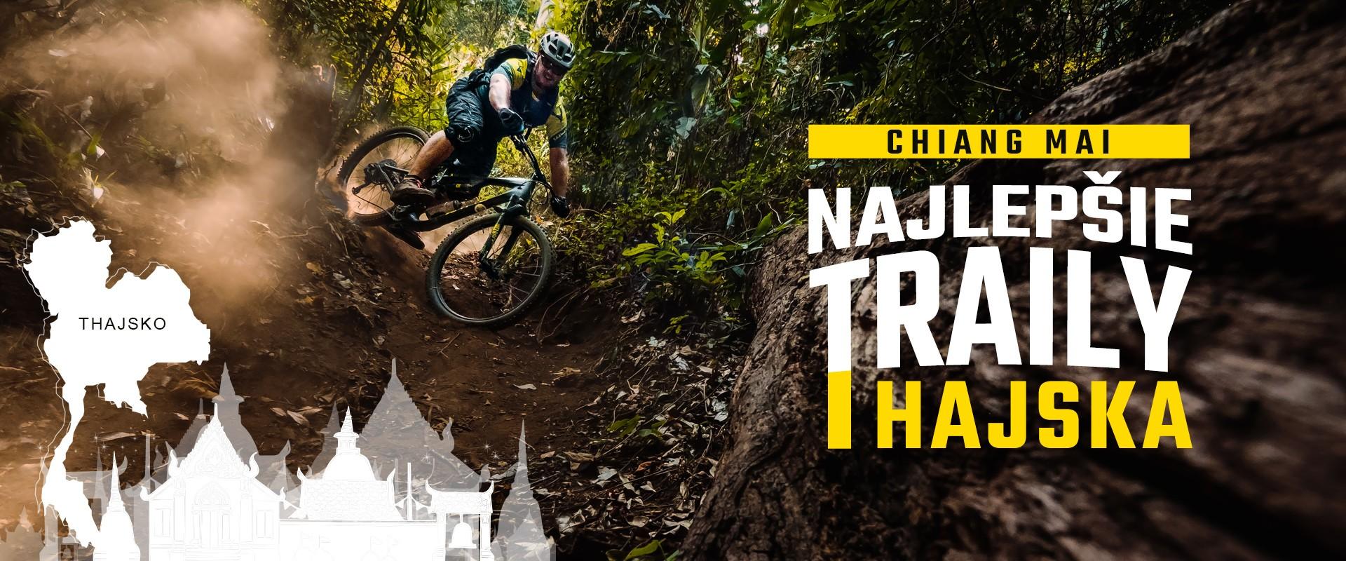 Chiang Mai - suverénne najlepšie traily v Ázii
