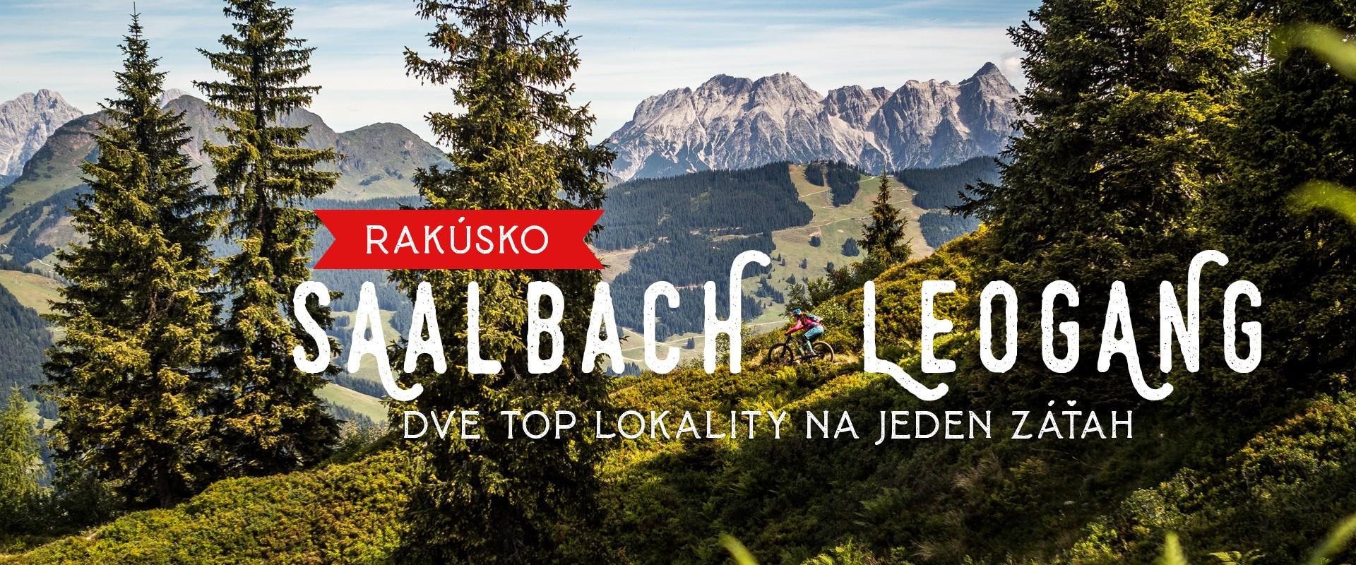 Saalbach a Leogang - kombo, ktoré rozbúši srdce každého bikera