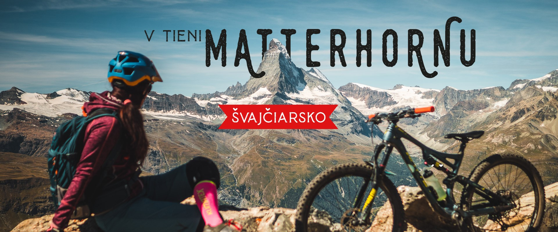 Traily v tieni Matterhornu